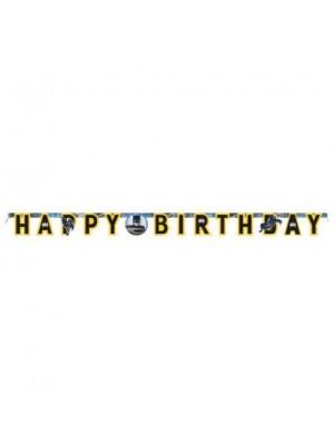 FAIXA HAPPY BIRTHDAY BATMAN