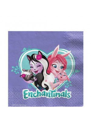 GUARDANAPOS ENCHANTIMALS