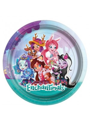 PRATOS ENCHANTIMALS