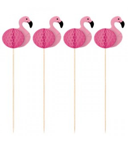 PICKS DOCES FLAMINGO PARADISE FAVO MEL