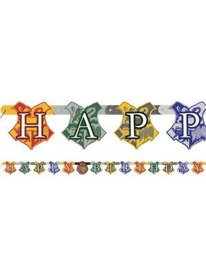 FAIXA HAPPY BIRTHDAY HARRY POTTER
