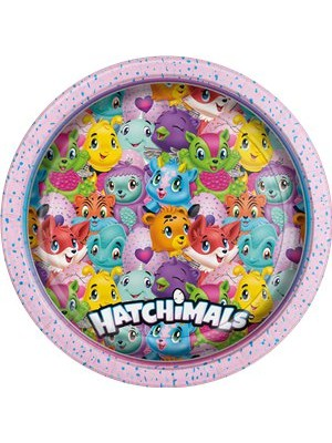 PRATOS 23CM HATCHIMALS
