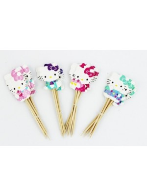 PICKS DOCES HELLO KITTY