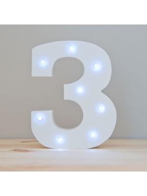 3 LED