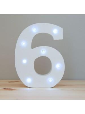 6 LED