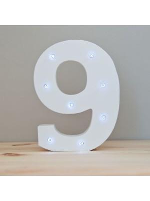 9 LED