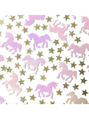 CONFETIS IRIDESCENTES LOVE UNICORN