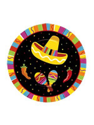 PRATOS DESCARTÁVEIS FESTA MEXICANA