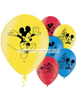 BALÃO LATEX MICKEY MOUSE 11""