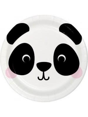 PRATOS FACE PANDA