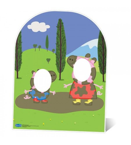 PAINEL FOTOS PEPPA PIG
