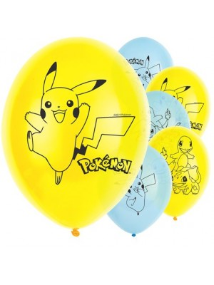 BALÃO LATEX  POKEMON 11""