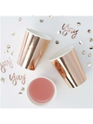 COPOS ROSE GOLD PARTY