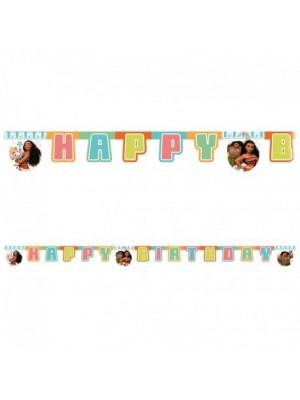 FAIXA HAPPY BIRTHDAY VAIANA