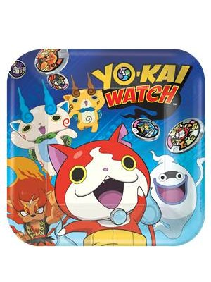 PRATOS YOKAI WATCH 23CM