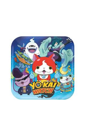 PRATOS YOKAI WATCH 18CM
